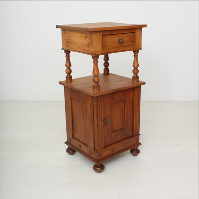 small antique cherry nightstand 1890s