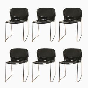 chaises pivotantes empilables sm 400 k par gerd lange pour drabert 1980s set de