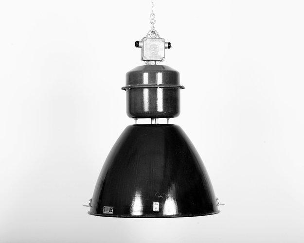 czech vintage industrial lamp from elektrosvit