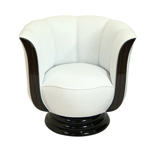 tulip shaped lounge chair from adm art deco moderne