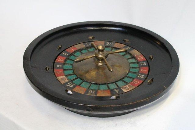 roulette spinnrad 1950er