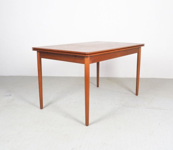 Danish Teak Extendable Dining Table 1960s For Sale At Pamono