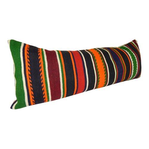 geometrical queen boho woven bedding kilim king long bed cushion cover