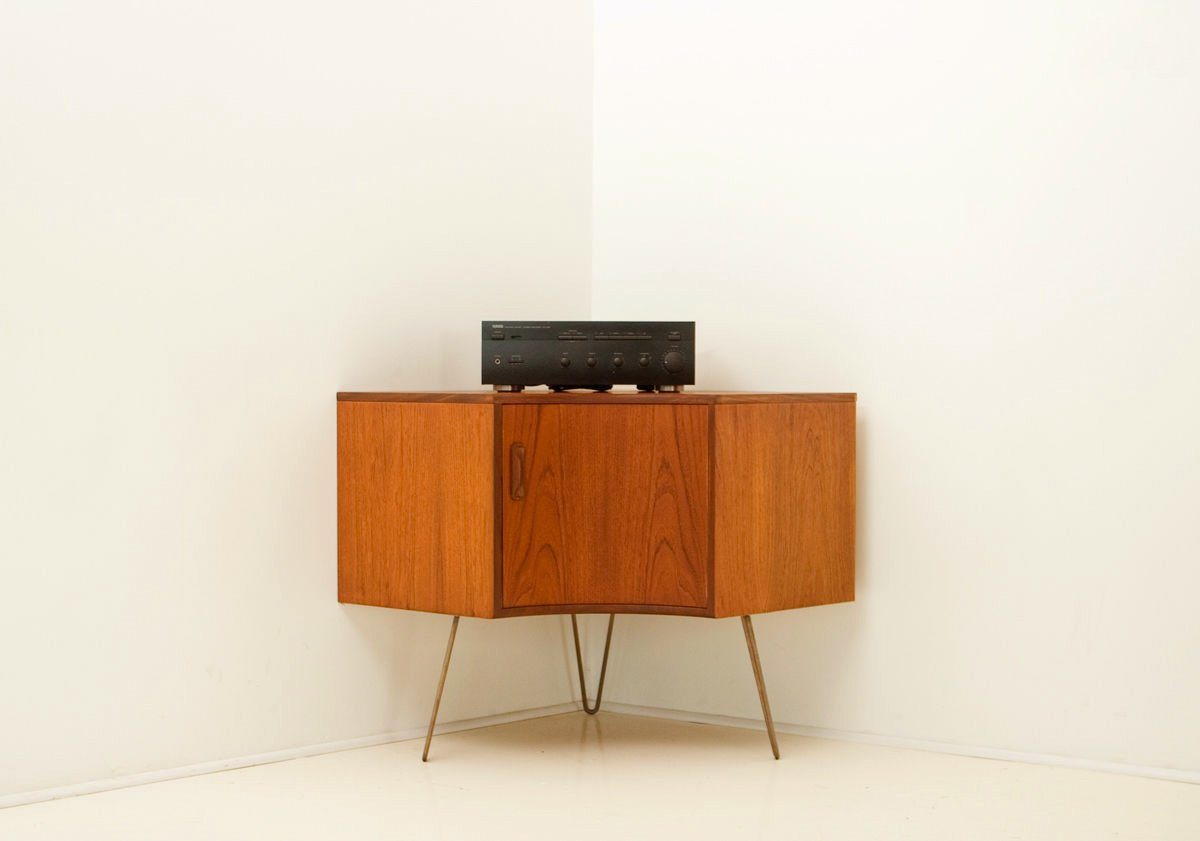 Mid-Century Teak Corner Cabinet From G-Plan For Sale At Pamono