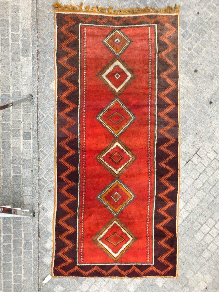 tapis berbere vintage maroc