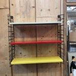 Scandinavian Modern Metal Shelf From Tomado 1960s