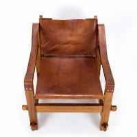 Brutalistischer Safari Stuhl, 1960er bei Pamono kaufen