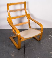 Modell Poäng Freischwinger Sessel von Noboru Nakamura für ...