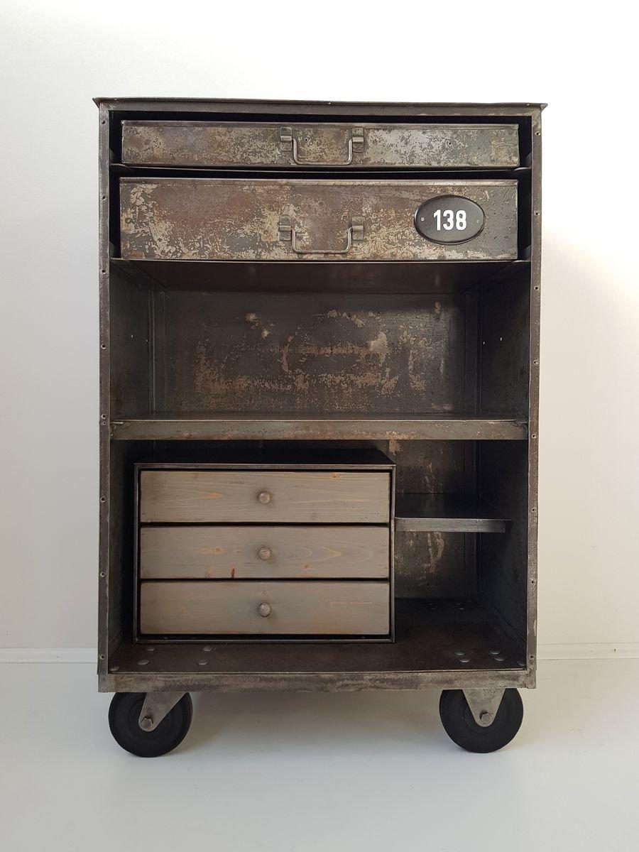 meuble vintage industriel