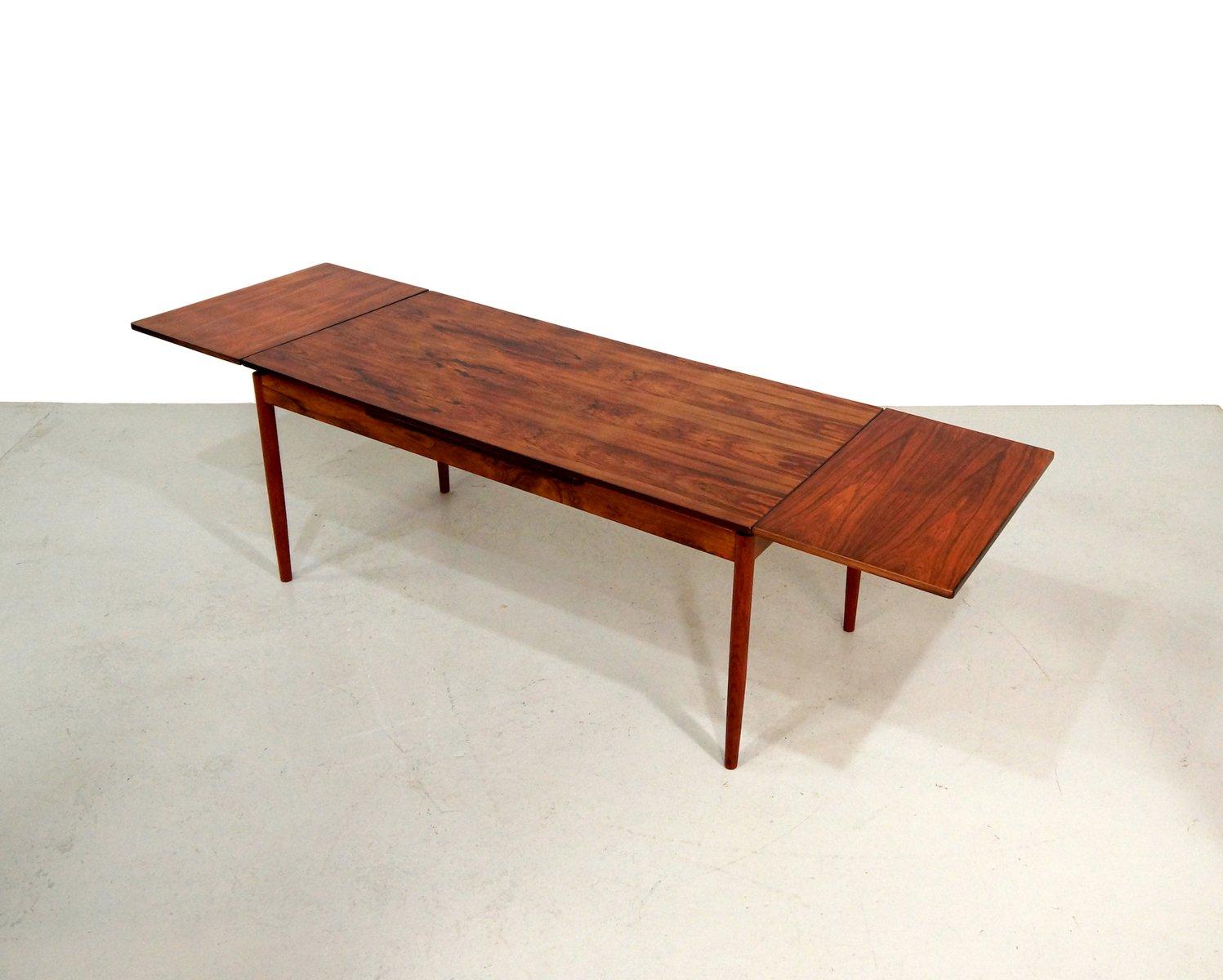grande table de salle a manger extensible 1960s