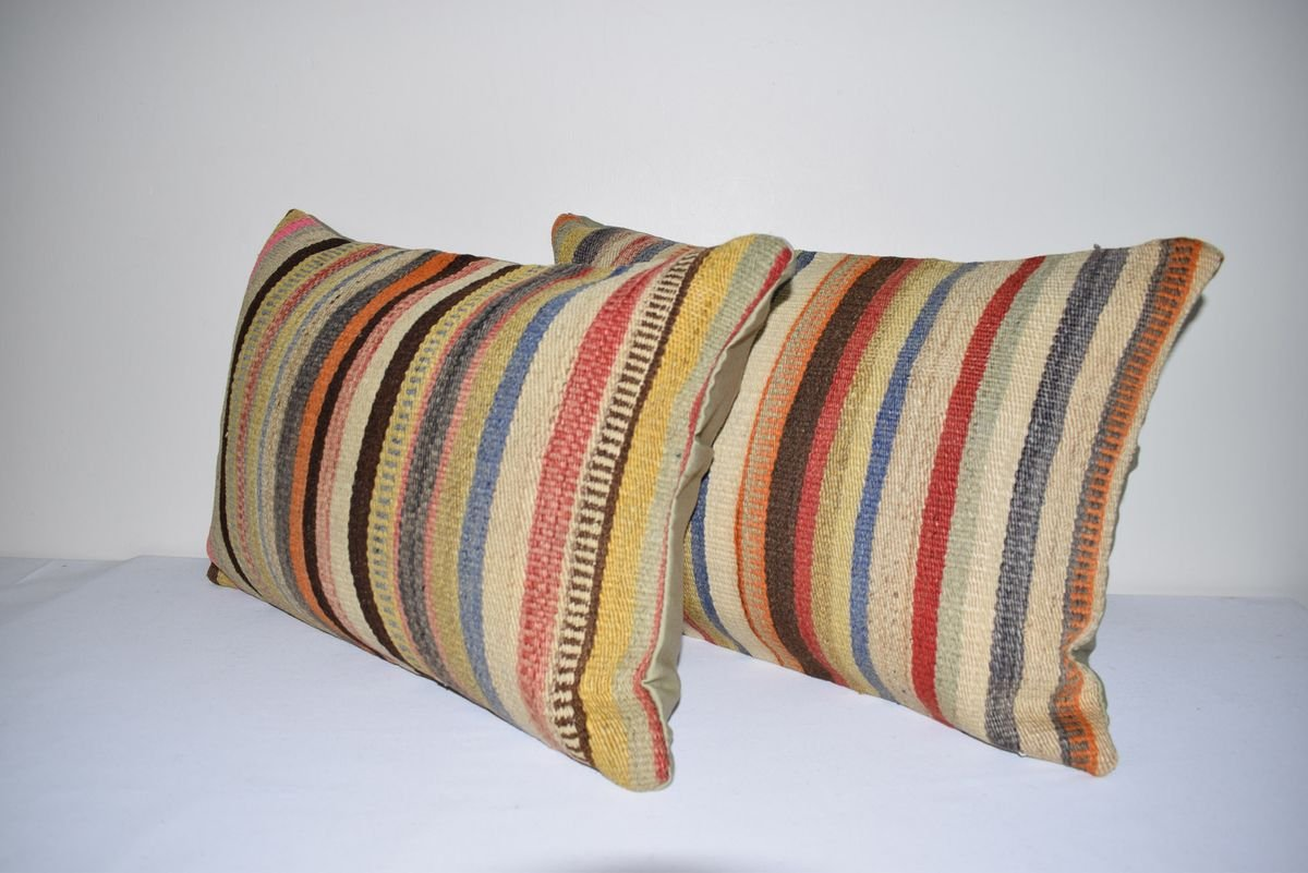 vintage turkish rug pillow covers from vintage pillow store contemporary set of 2