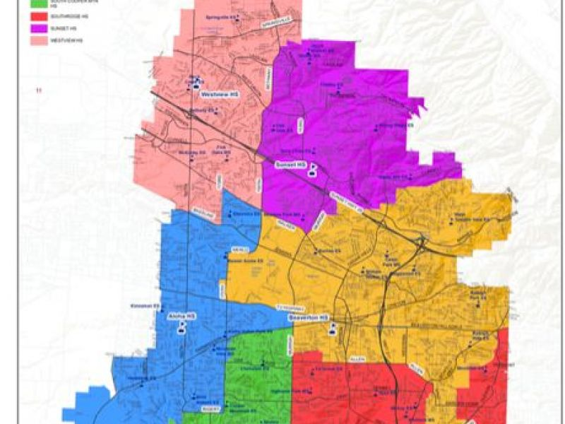 Portland Oregon Zip Code Map Boundaries