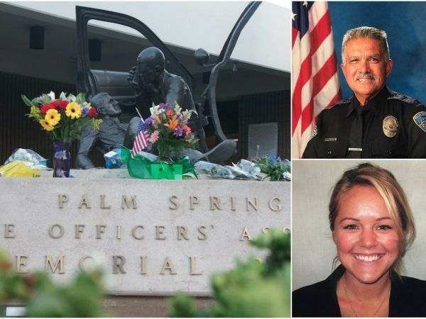 Diapers, Baby Clothes Among Donations Sought for Families of Slain Palm Springs Officers
