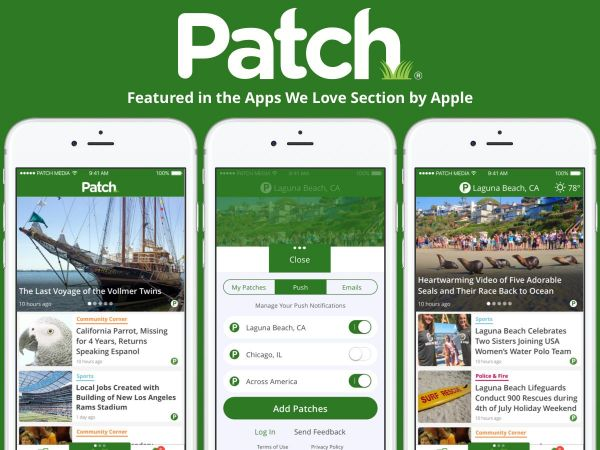 Love Patch? Have an iPhone or iPad? Download the Totally Amazing New Patch App!