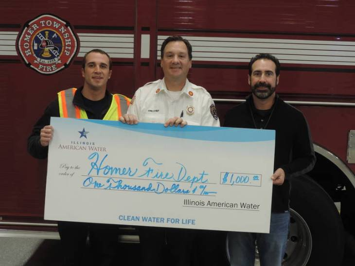 Homer Township Fire District Receives Grant For New Safety Vests
