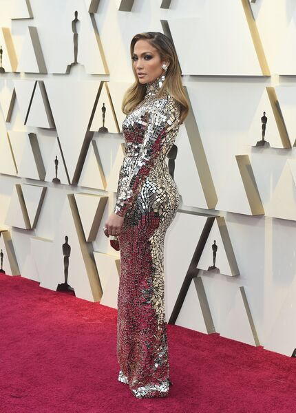 Дженнифер Лопес на церемонии вручения премии Оскар