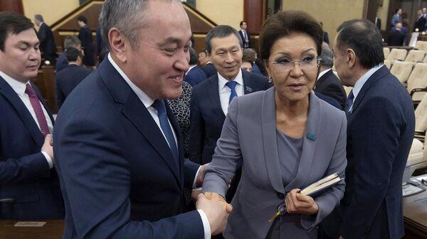 Избранный председатель парламента Казахстана Дарига Назарбаева