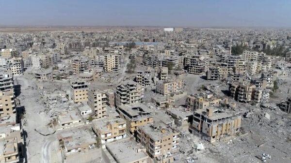 Российские журналисты впервые посетили бывшую столицу ИГ* Ракку