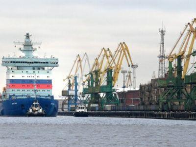 """Балтийский завод провел испытания атомного ледокола """"Арктика"""""""