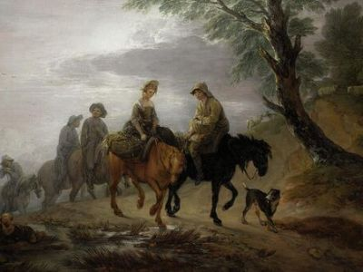 Власти запретили владельцу вывезти из Великобритании картину Гейнсборо