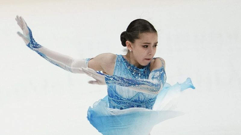 Kamila Valieva performs her short program in women's single skating at the 2nd stage of the Russian Cup - Rostelecom figure skating in Moscow.  - RIA Novosti, 1920, 10.10.2020