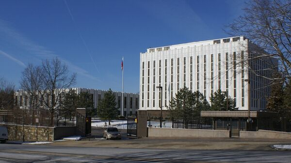 The building of the Russian Embassy in the USA