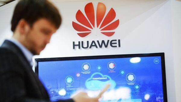 Стенд компании Huawei