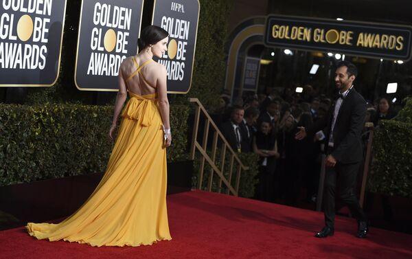 Актриса Рэйчел Броснахэн на премии Золотой глобус в Беверли-Хиллз. 6 января 2019