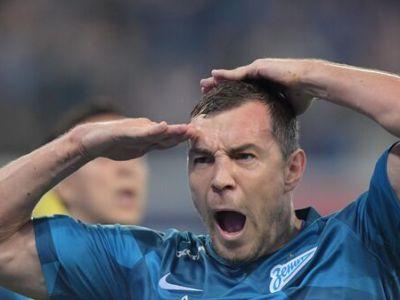Дзюба вновь признан лучшим футболистом года по версии РФС
