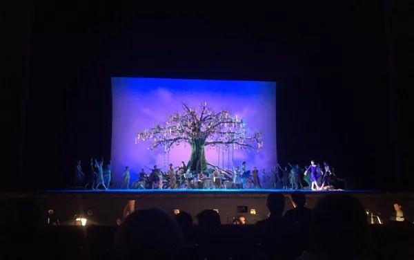 Балет Зимняя сказка в постановке Кристофера Уилдона на Исторической сцене Большого театра