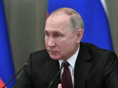 Путин назвал механизмы финансирования нацпроектов неритмичными