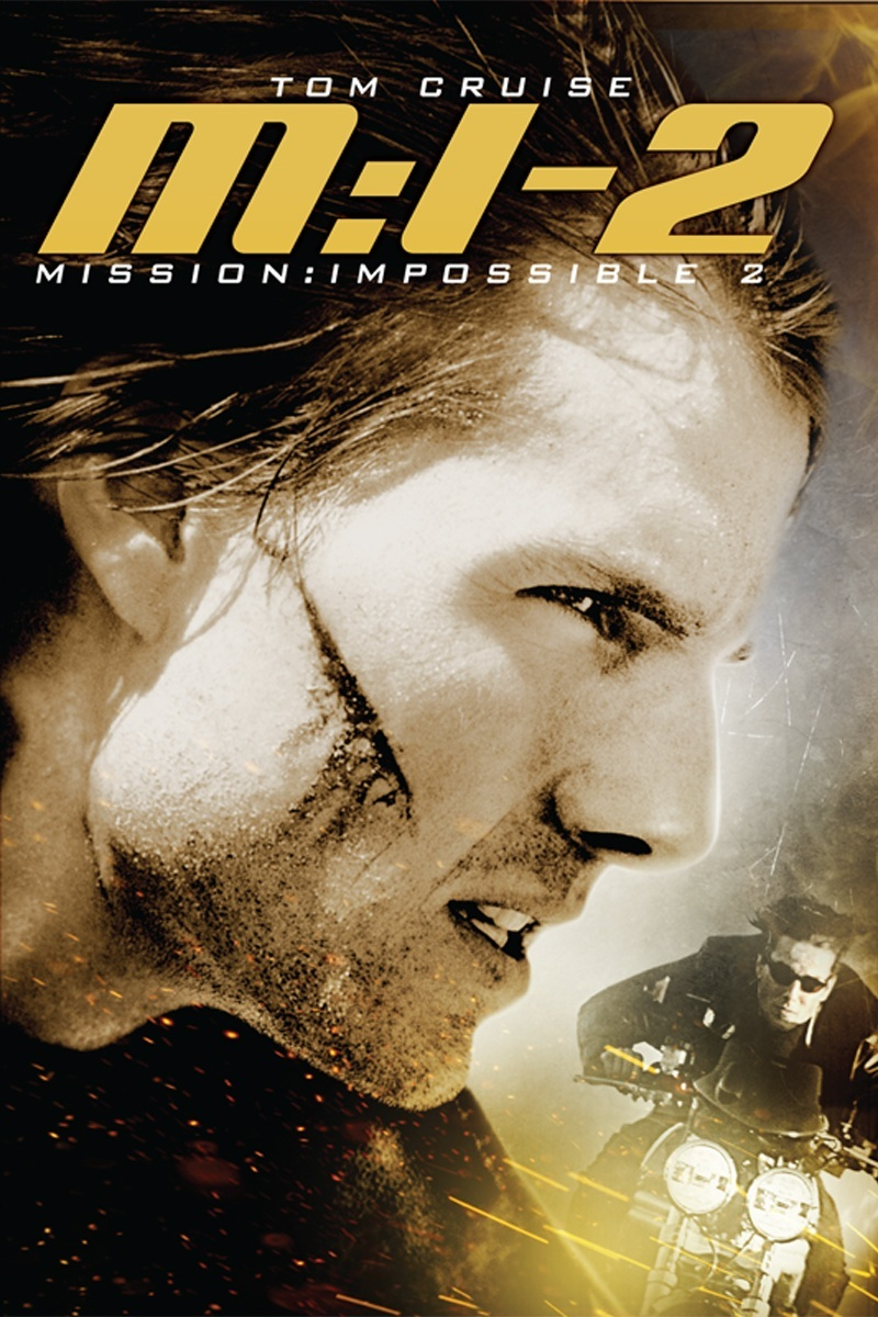 Mission Impossible Ii Poster Artwork Tom Cruise Dougray Scott Thandie Newton Movie