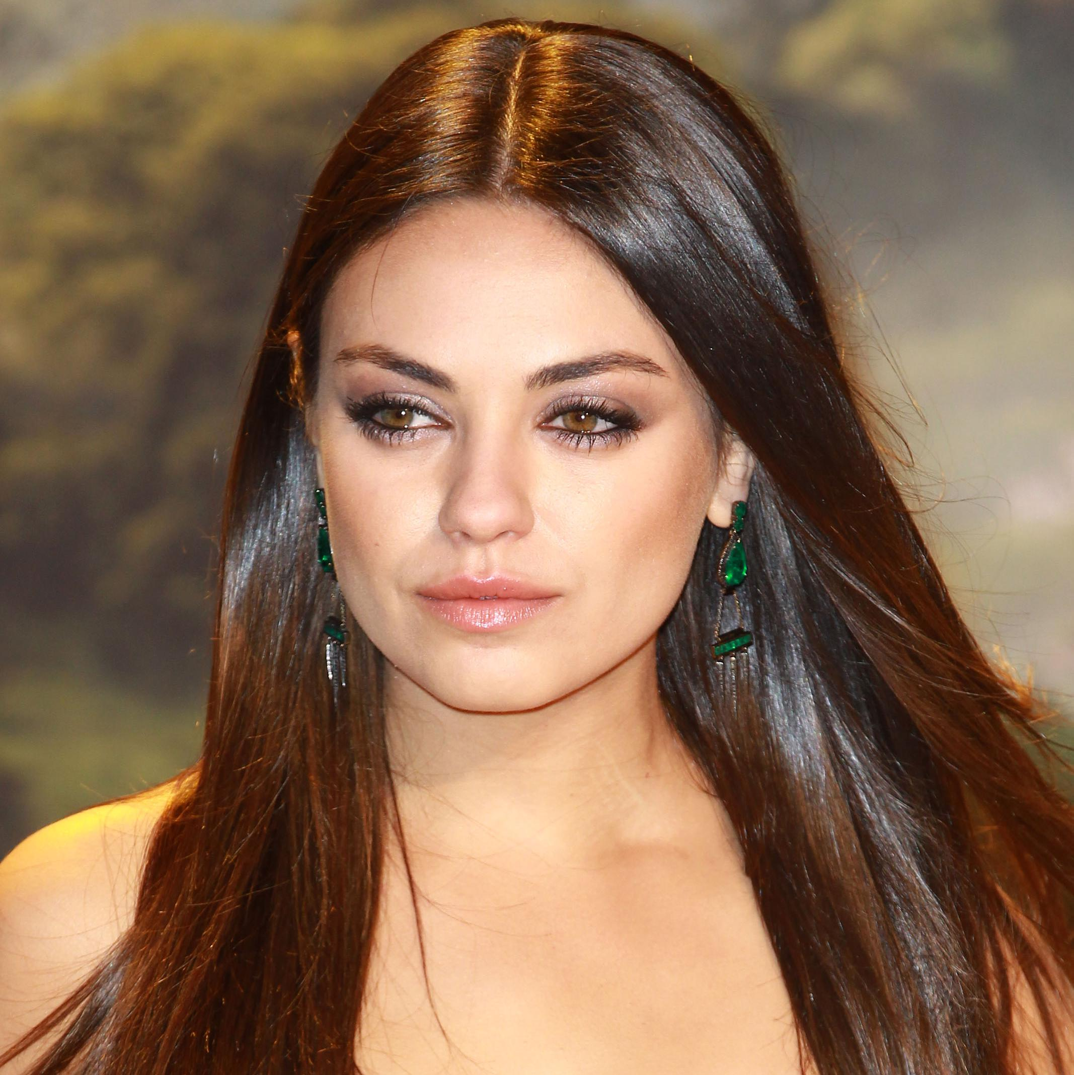 Mila Kunis Light Brown Hair