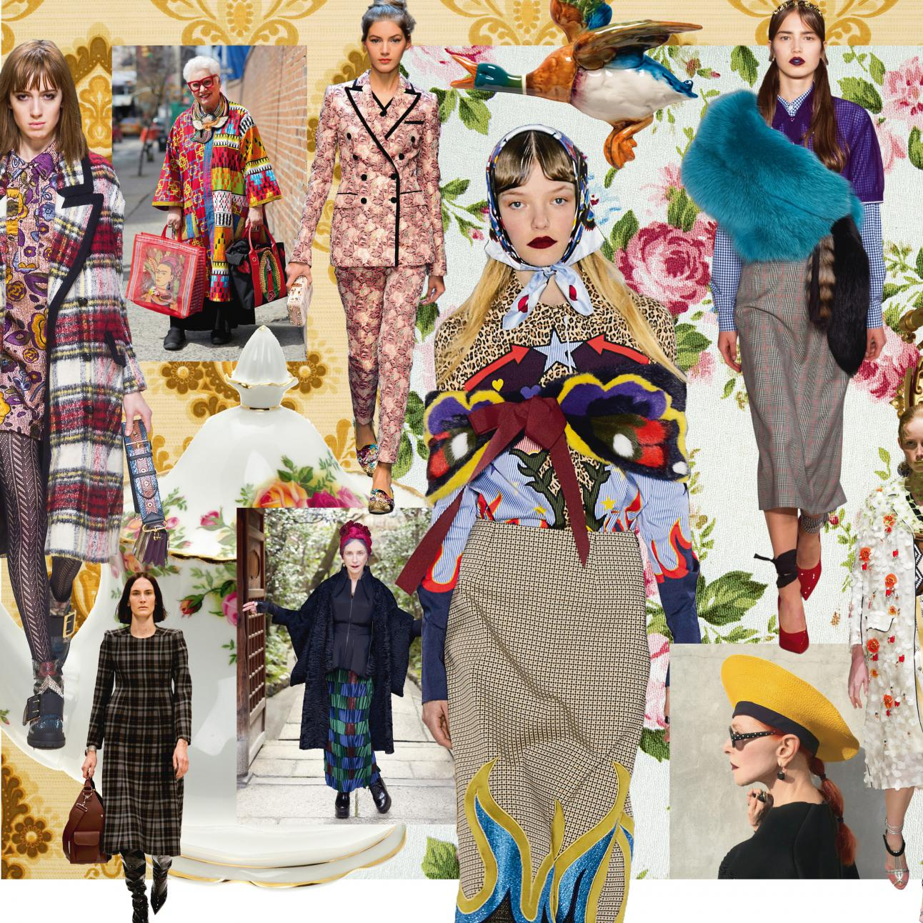 Le Moodboard 1 Chic Mamie Elle