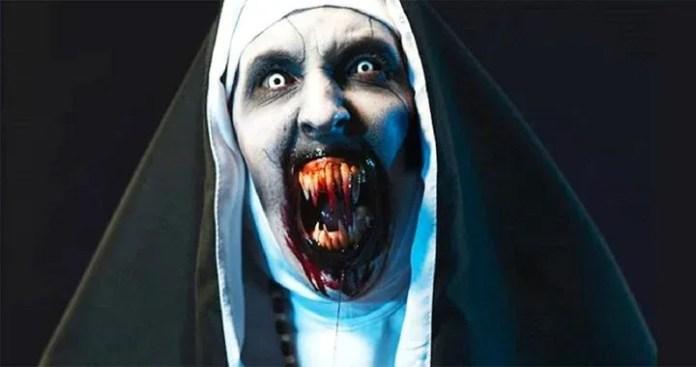 ডাউনলোড করুন 2018 সালের সেরা ভয়ানক মুভি The Nun   Free Download The Nun Full Movie HD 2018 (One click download link)
