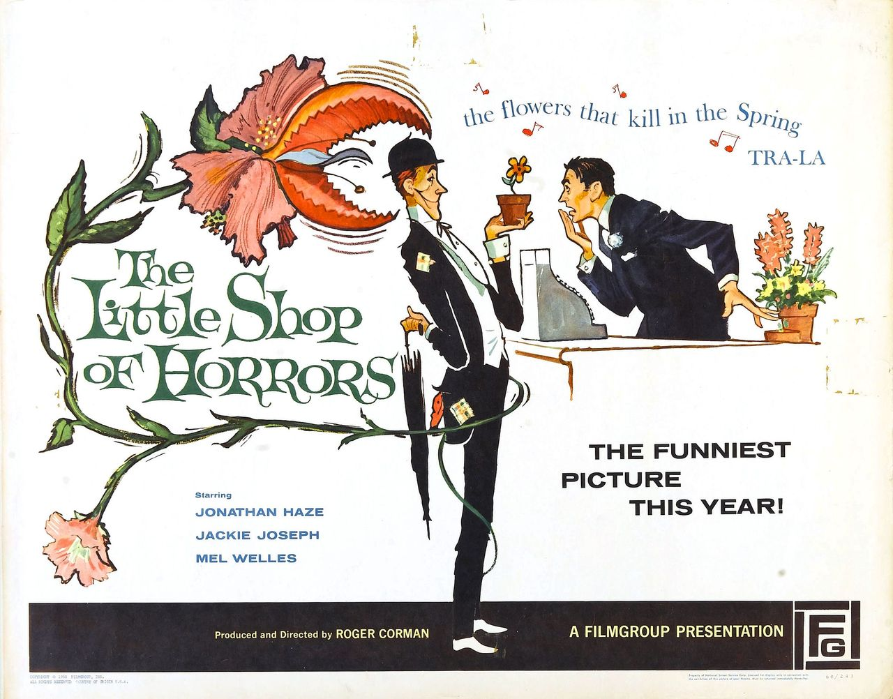 Image result for little shop of horrors 1960