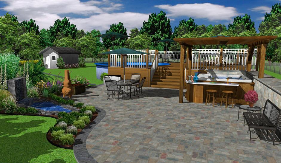 Architecte 3D Jardin Et Extrieur 2017 V19 Planifiez