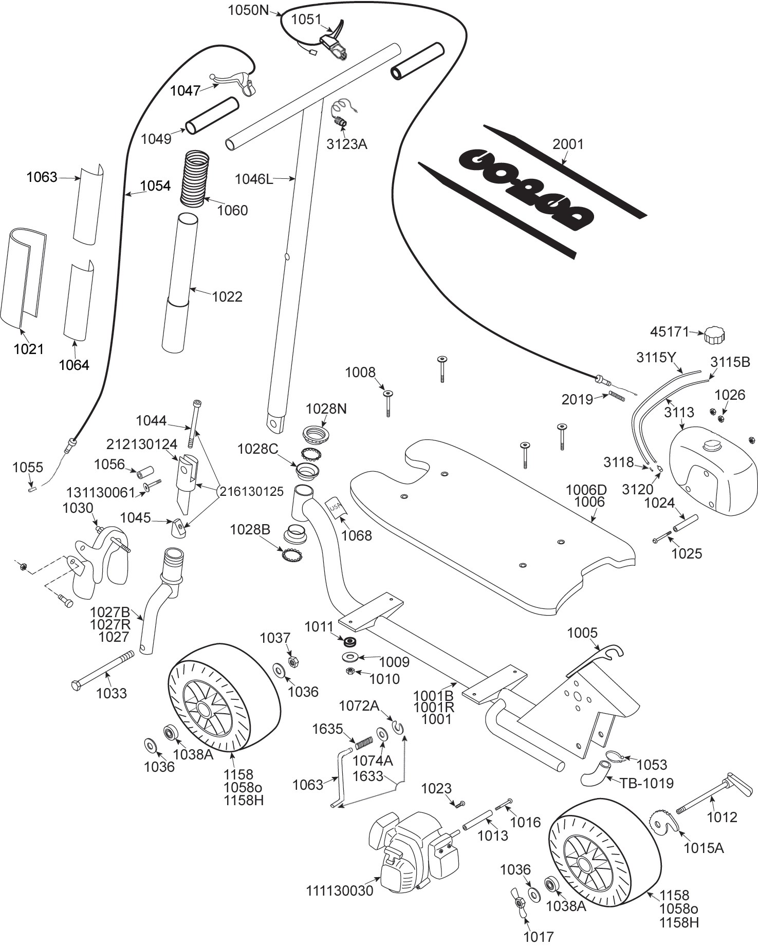 Gas scooter parts diagram wiring diagram