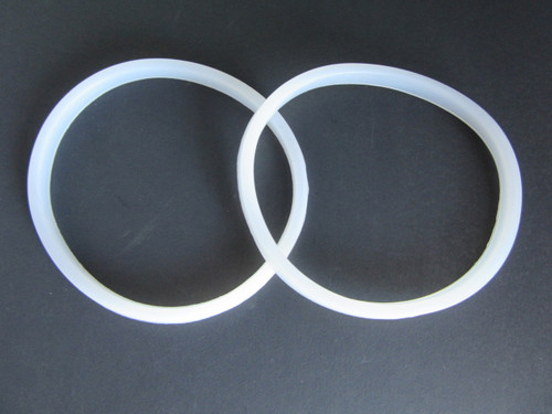 TWO Rubber Gasket Seal For Manual Sausage Stuffer 3 5 7 10