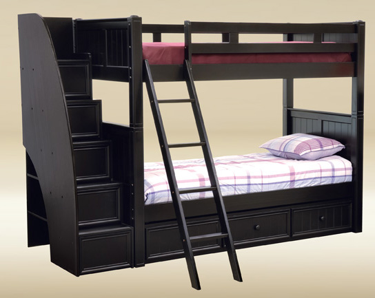Full Over Full Bunk Beds Perfect For Sleepovers After 4th