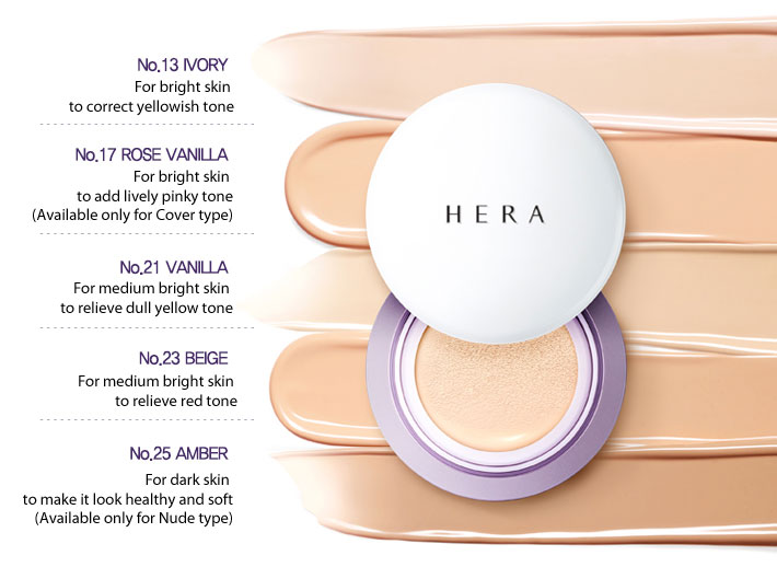 Image result for hera uv mist cushion shades