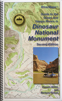 Dinosaur National Monument   Green and Yampa Rivers Map   River Maps     Image 1