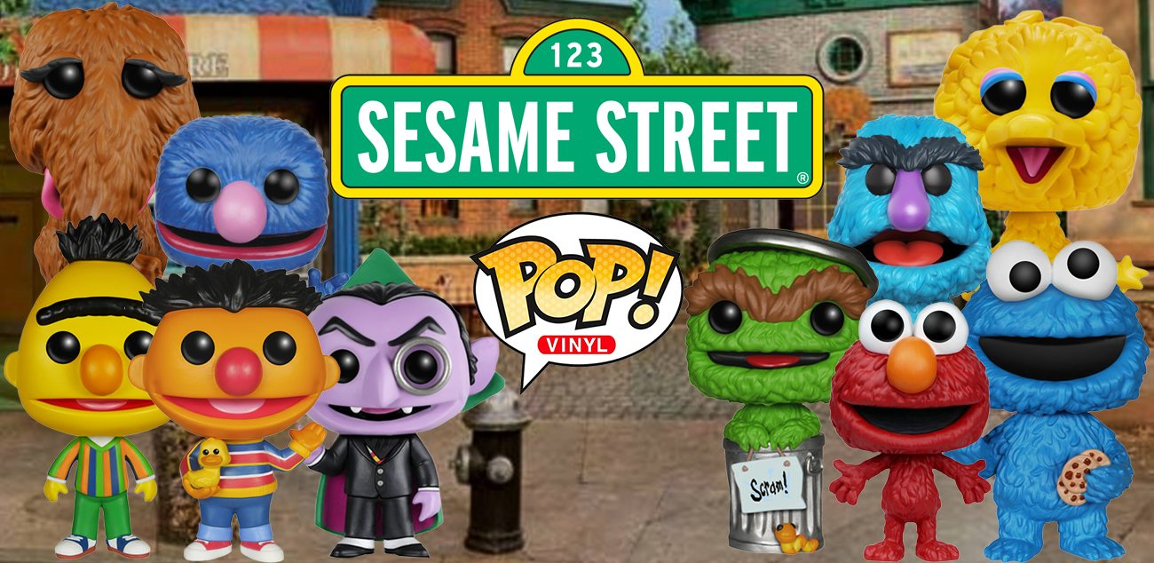 Herry Sesame Street Pop Figures