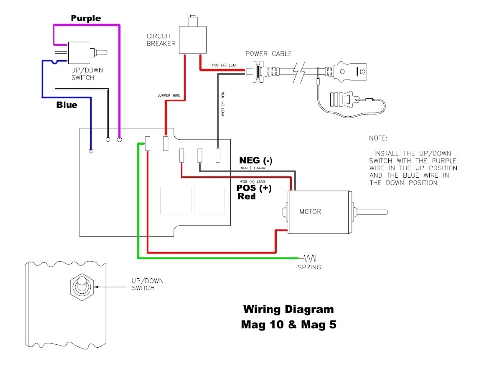 Cannon Downrigger Wiring Diagrams