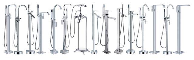 Tub filler Bathtub Faucets Freestanding