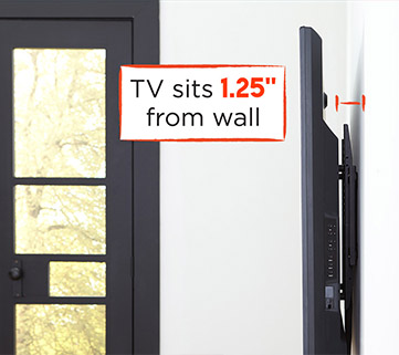 Our Low Profile Tv Mount Has A Slim Design So The Bracket Holds Your Tv Only