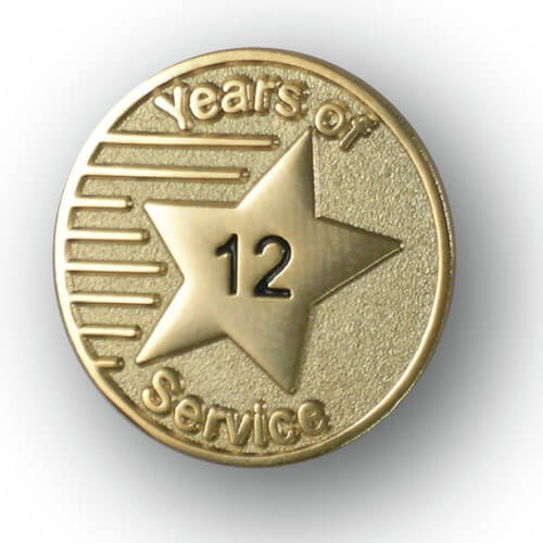 Costco Employee 10 Years Service Lapel Pins