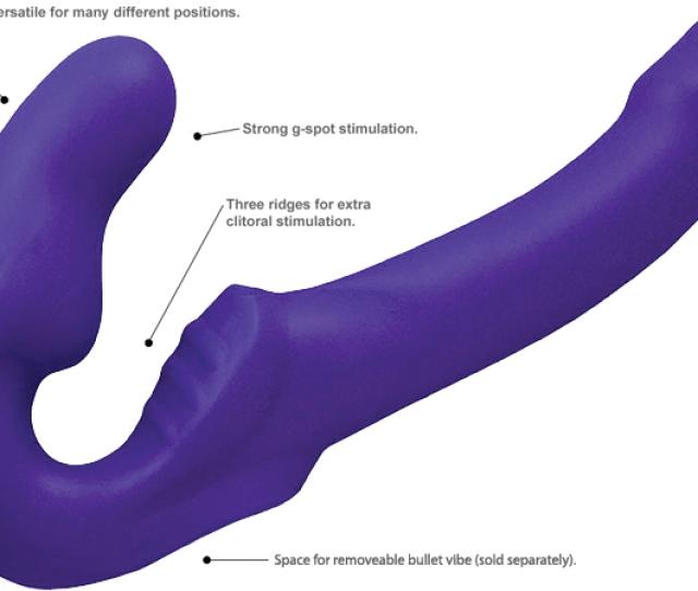 Fuze Tango Double Ended Dildo Purple Info