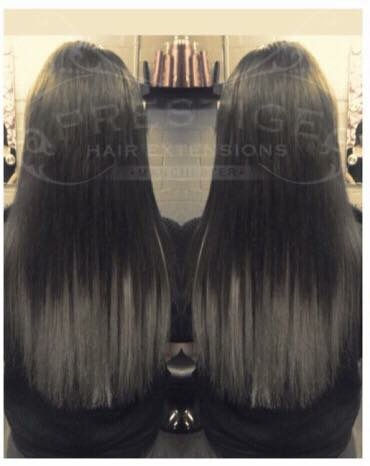 black to grey ombre hair extensions prestige hair extensions