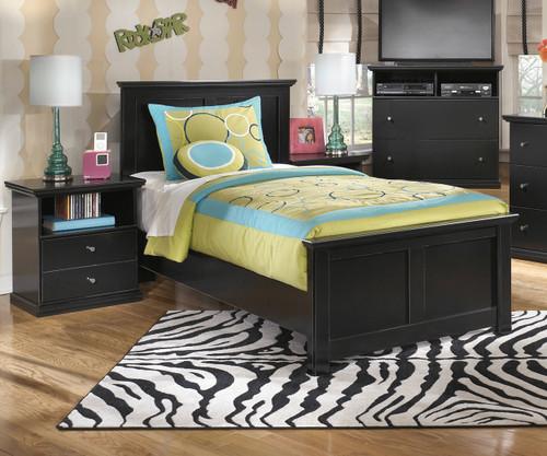 Maribel Twin Size Panel Bed B138 Ashley Kids Furniture